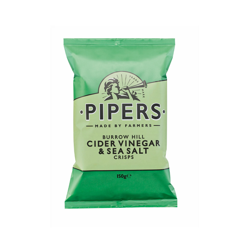 Pipers Crisps - Cider Vinegar & Sea Salt