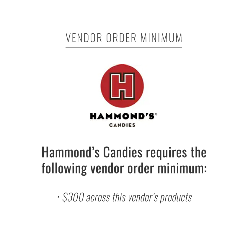 Hammond's Theater Boxes - Butter Peanut Crunch