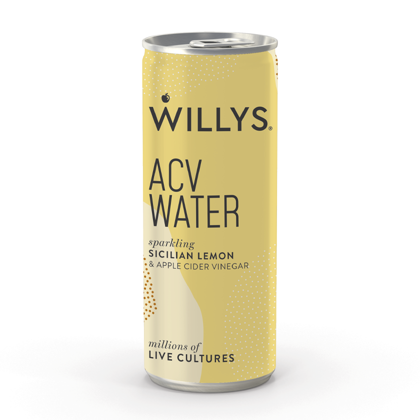 Willy's ACV Sparking Sicilian Lemon ACV Water