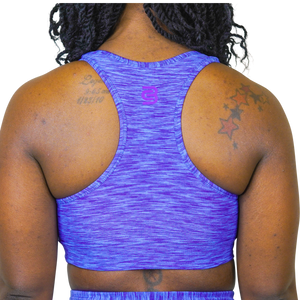 NEPTUNE SPACEDYE SPORTS BRA