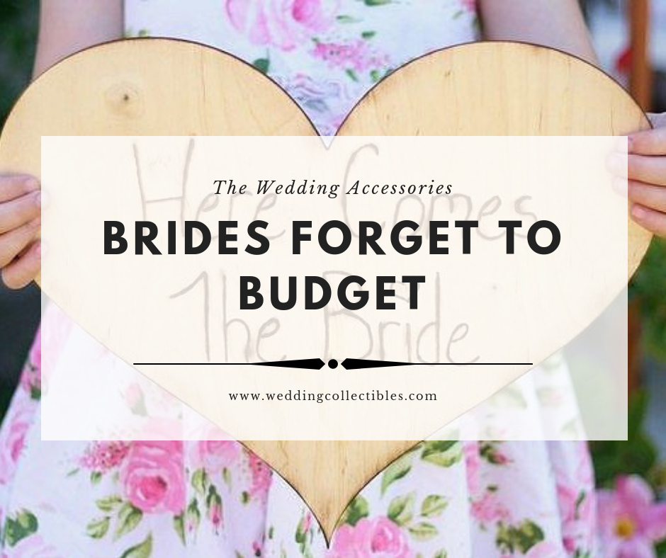 The Wedding Accessories Brides Forget to Budget