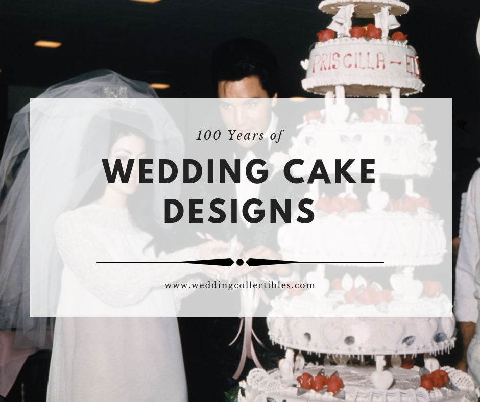 100 Years of Wedding Cake Designs