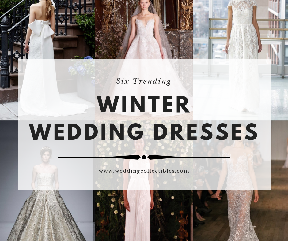Six Trending Winter Wedding Dresses