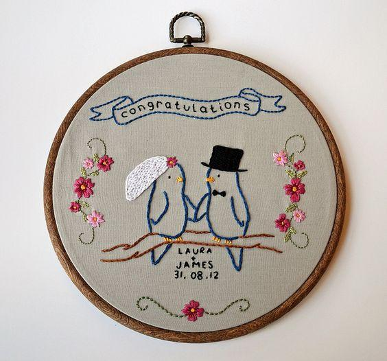 Add a Little Embroidery in Your Wedding