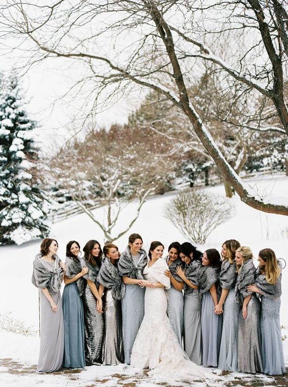 Top 5 Winter Wedding Themes