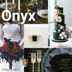 Onyx Wedding Inspiration