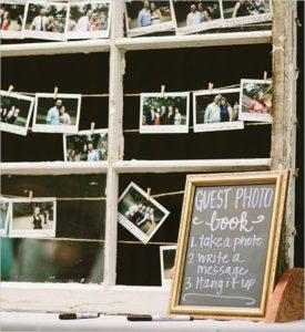 A Photo Booth as a Guest Book