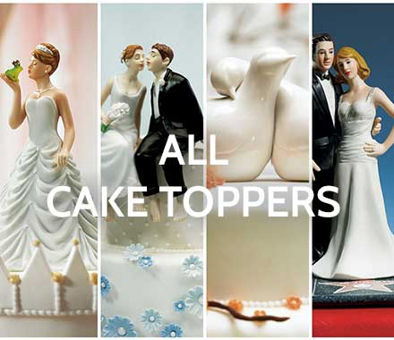 All Wedding Cake Toppers