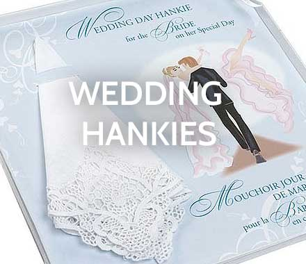 Wedding Handkerchiefs - Poetry Hankies