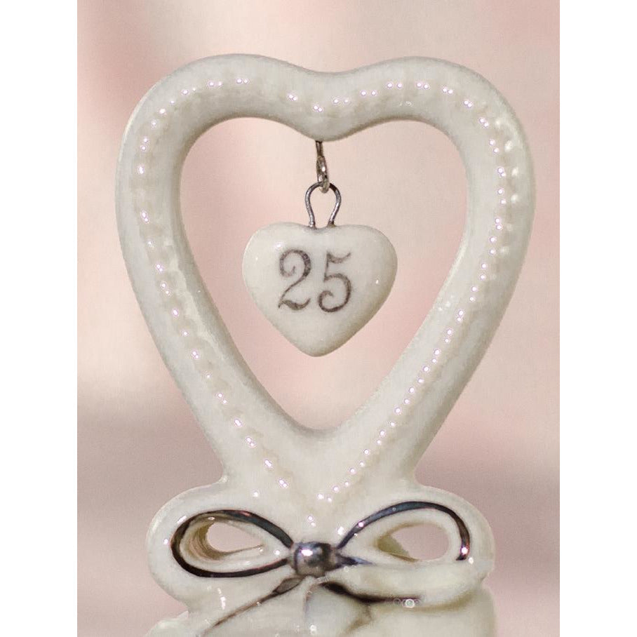 25th Anniversary Wedding Bell