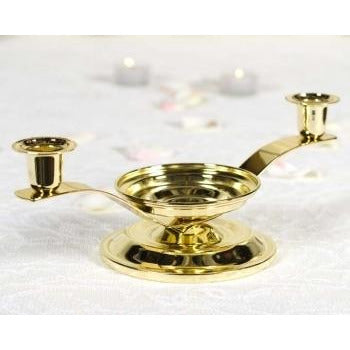 3 In 1 Gold Candle Holder