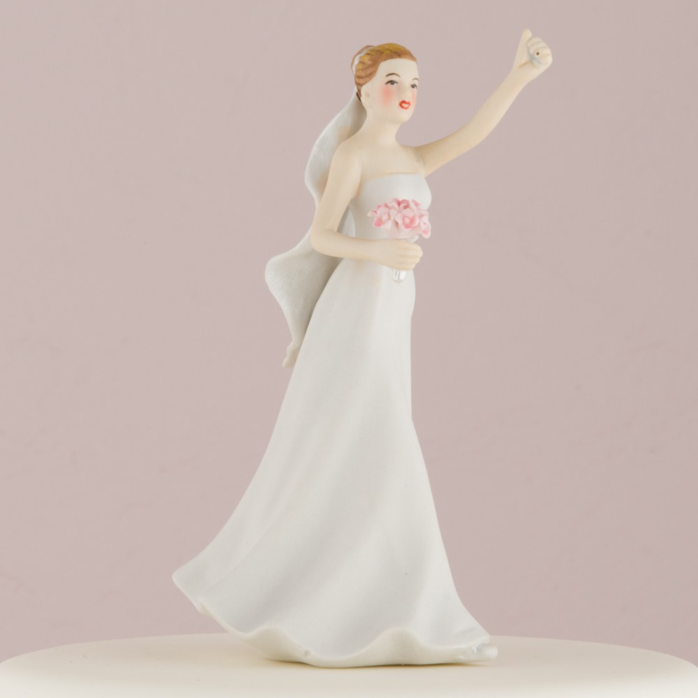 Victorious Bride Mix & Match Cake Topper