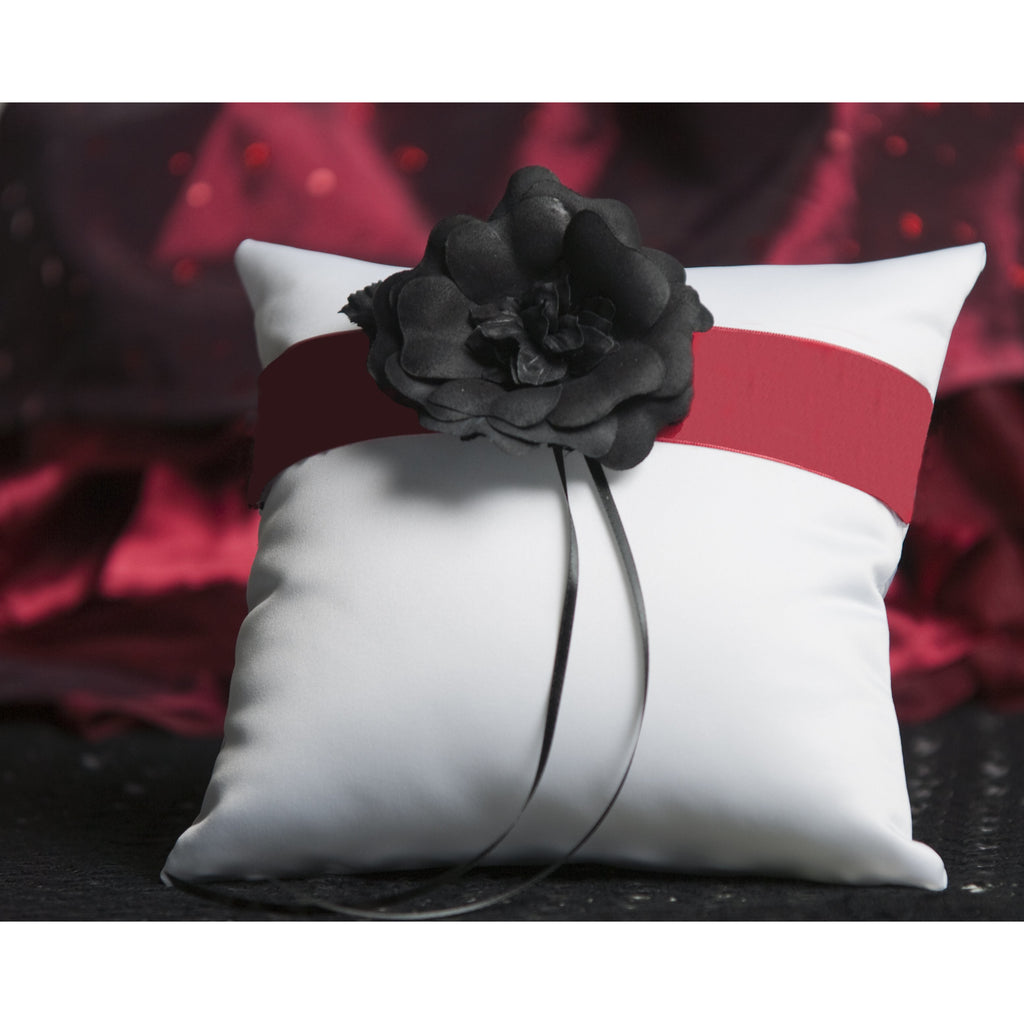 Gothic Romance Wedding Ring Bearer Pillow