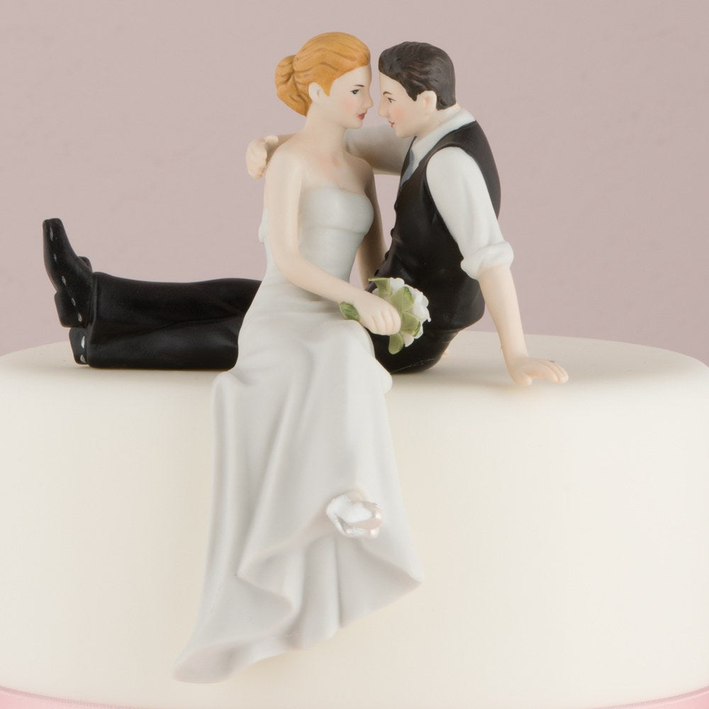 """The Look of Love"" Bride and Groom Couple Figurine"