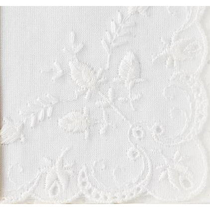 Personalized A Mi Abuelita Wedding Handkerchief in Spanish
