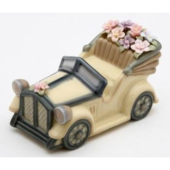 Antique Sports Car Cake Topper Figurine