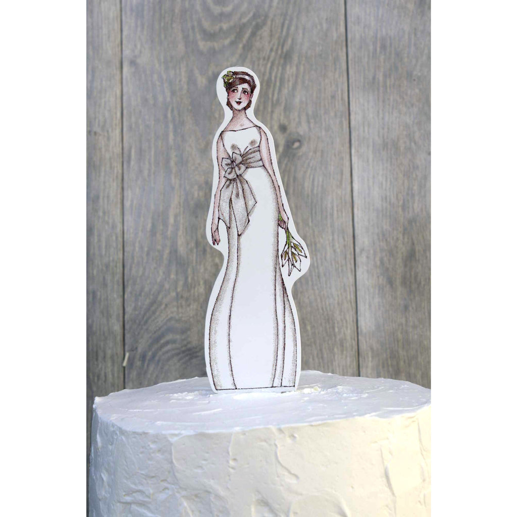 Chic Paper Bride Doll Mix and Match