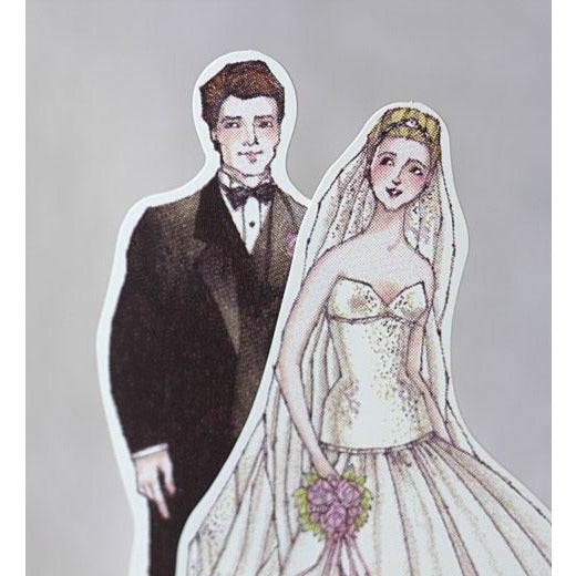 Ballroom Beauty Paper Doll Mix and Match Bride and Groom