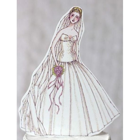 Ballroom Beauty Paper Bride Doll Mix and Match