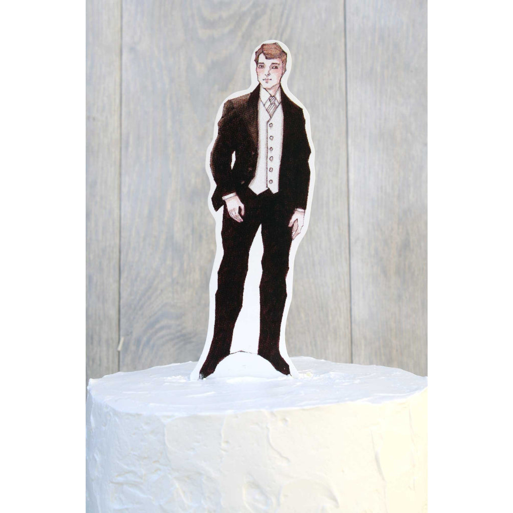 Formal Groom Paper Doll Mix and Match