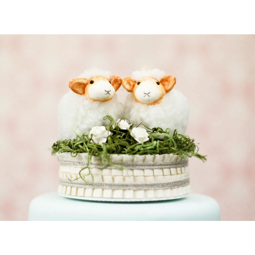 """Be my Baahby Forever"" Wedding Cake Topper"