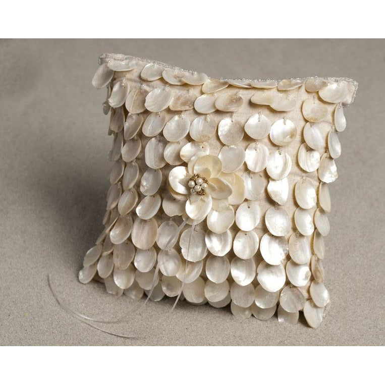Beautifull Shell Ring Pillow