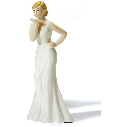 Brides Blowing Kisses Gay Cake Topper