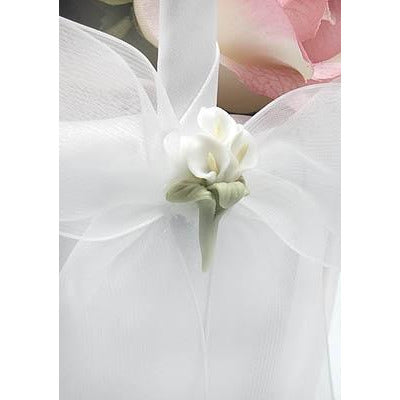 Calla Lily Bouquet Wedding Flowergirl Basket