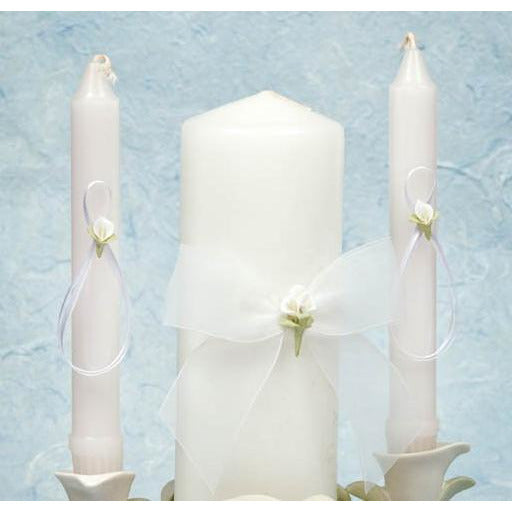 Calla Lily Bouquet Wedding Unity Candle Set