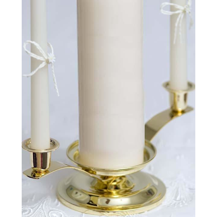 Candle Holder (Gold or Silver) for Unity and Tapers