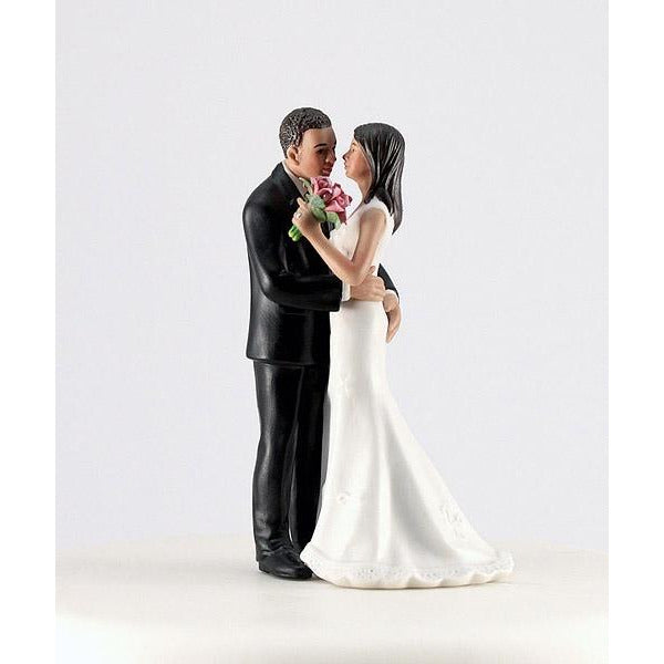 "Cheeky Couple Figurine ""My Main Squeeze""-medium skin tone"