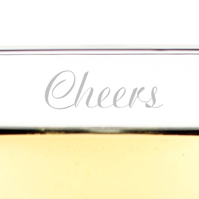 Cheers Champagne Coupe Toasting Flutes