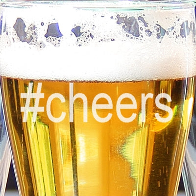 #Cheers Pilsners (Set of 4)