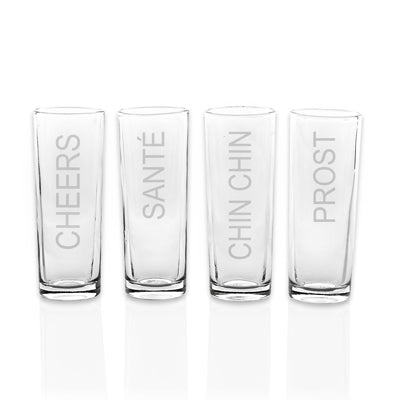 Cheers Shooters (Set of 4)