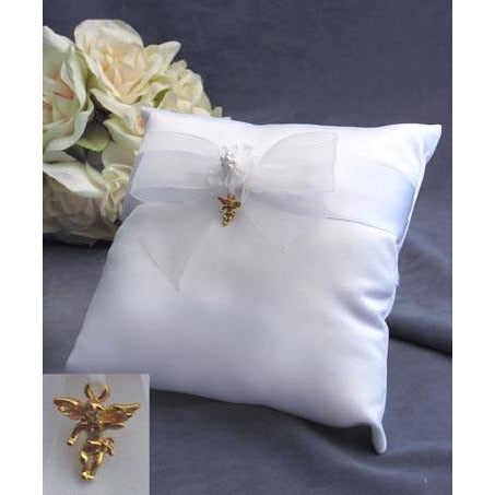 Cherub Angel Wedding Ring Bearer Pillow