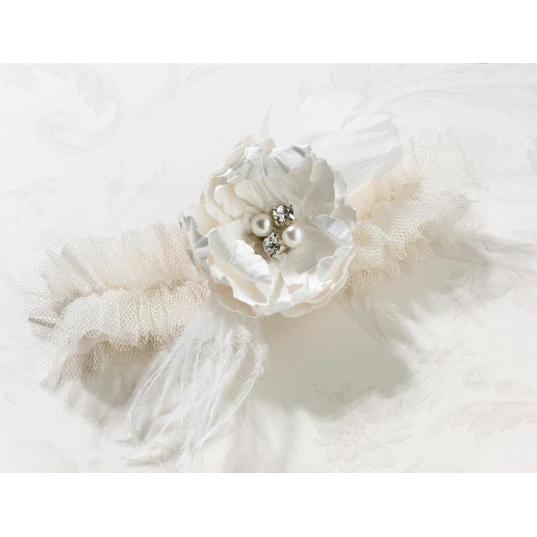 Chic & Shabby Garter-Cream