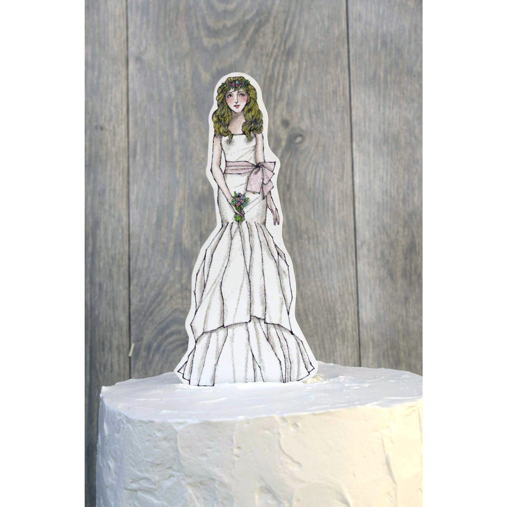 Bohemian Bride Paper Doll Mix and Match