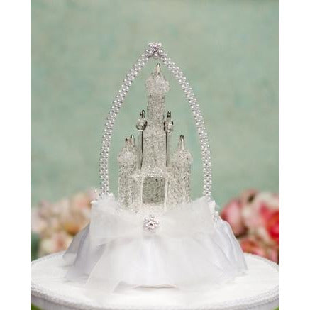 Cinderella Castle Cake Topper with Arch