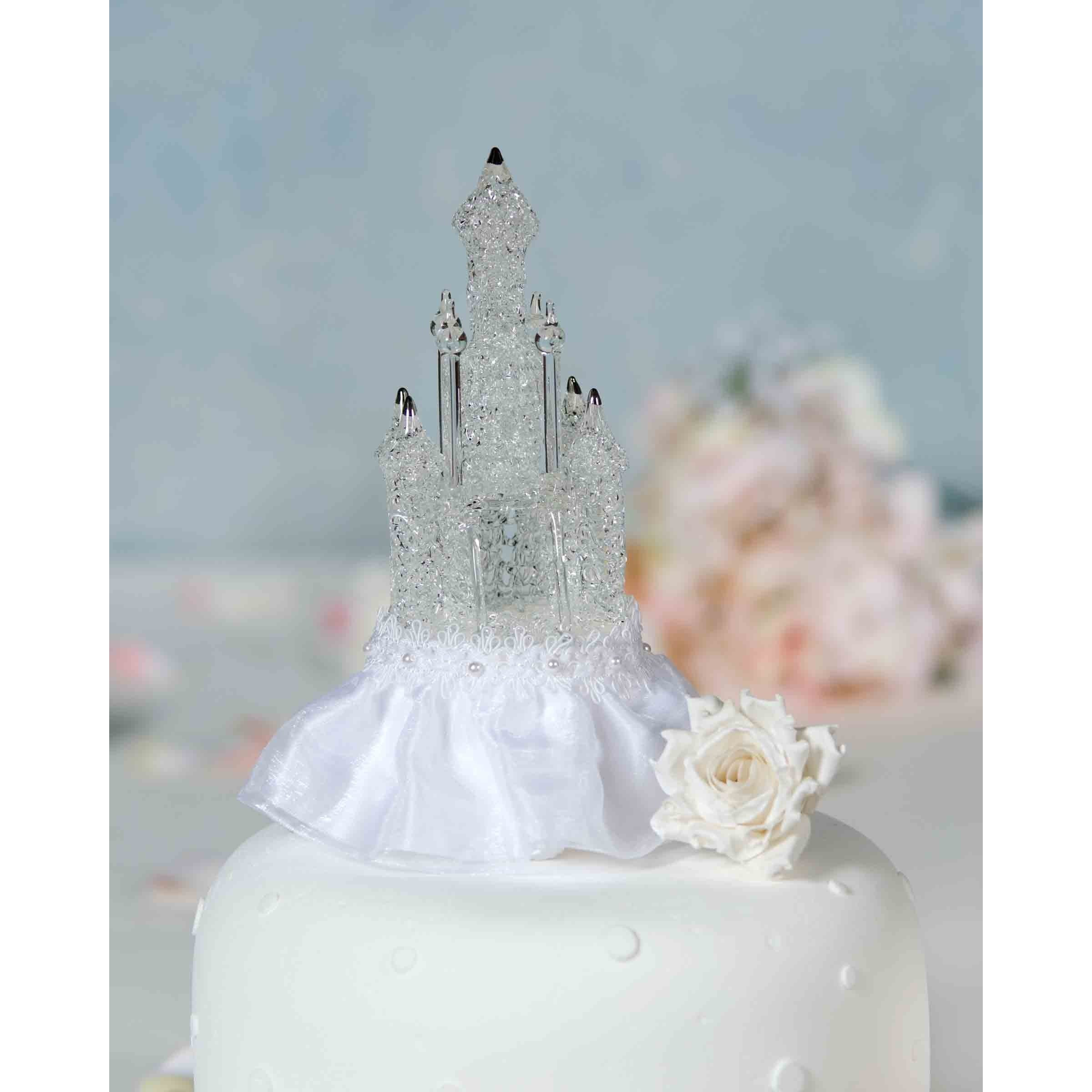 Wondrous Cinderella Castle Cake Topper Wedding Collectibles Funny Birthday Cards Online Inifofree Goldxyz