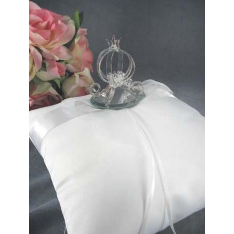 Cinderella Pumpkin Coach Wedding Ring Bearer Pillow