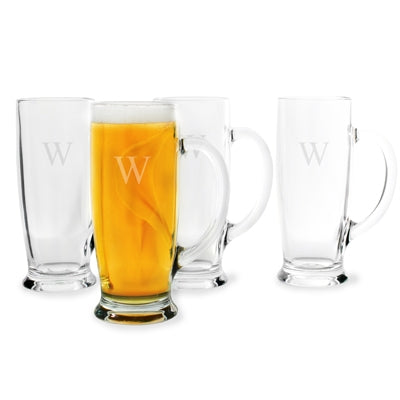 Craft Beer Mugs (Set of 4)