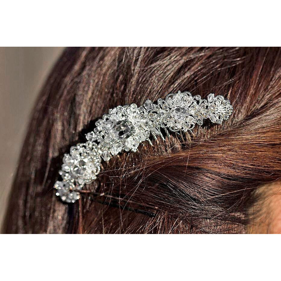 Crystal Deco Wedding Hair Comb