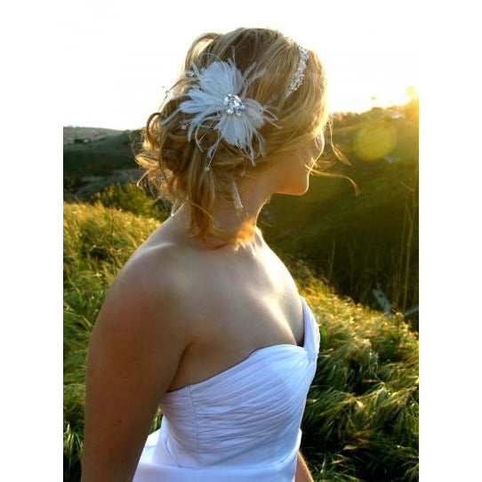 Crystal Glam Ribbon Headband