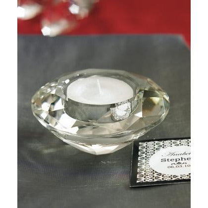 Crystal Tealight Holders- Set of 6