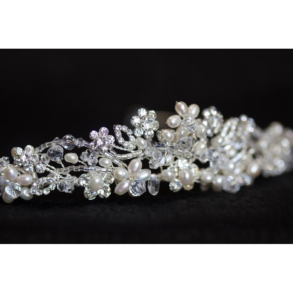 Crystal and Pearl Princess Tiara