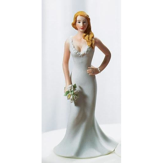 Curvy Bride Figurine Mix & Match Cake Topper
