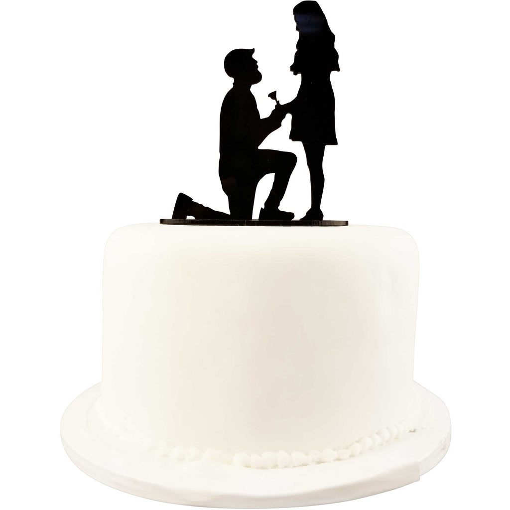 Custom Silhouette Cut Out Wedding Cake Topper - Add a Personalized Touch Your Custom Wedding Cake Topper
