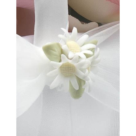 Daisy Bouquet Wedding Flowergirl Basket