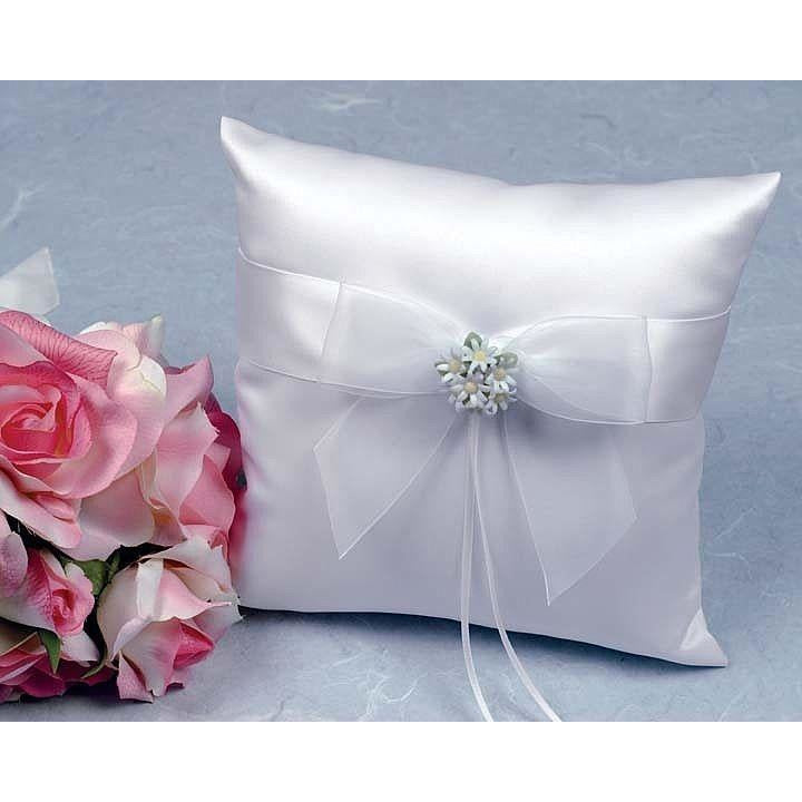 Daisy Bouquet Wedding Ring Bearer Pillow