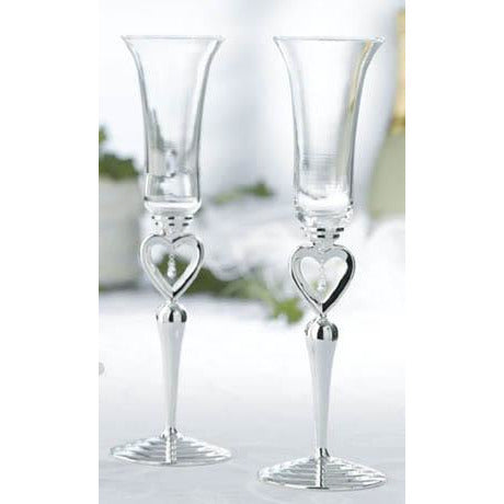Dangling Jewel Toasting Glasses